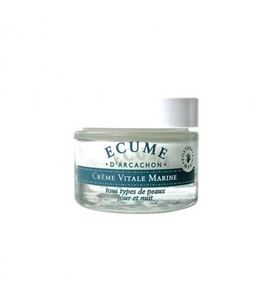 Crème Vitale Marine-Écume d'Arcachon.soin visage