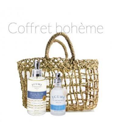 Coffret bohême parfum et huile sèche Écume d'Arcachon