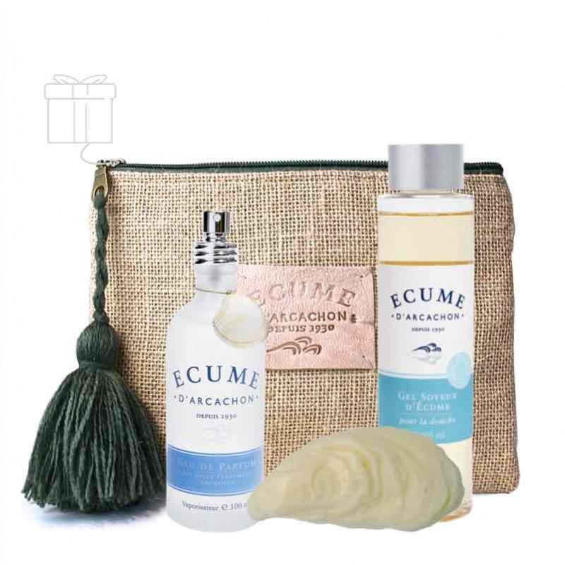 Coffret parfum et soin magnétique Écume d'Arcachon
